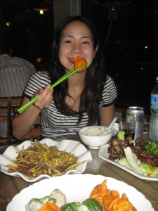 One Hungry Girl from Bangkok