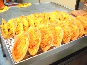 Giant crispy pancakes @ MBK Bangkok