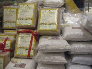 Packed rice