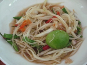 More Homemade Somtam